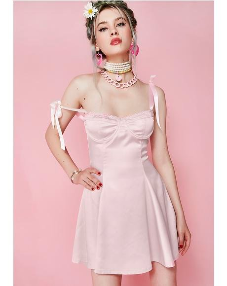 Doll Darlin' Satin Dress