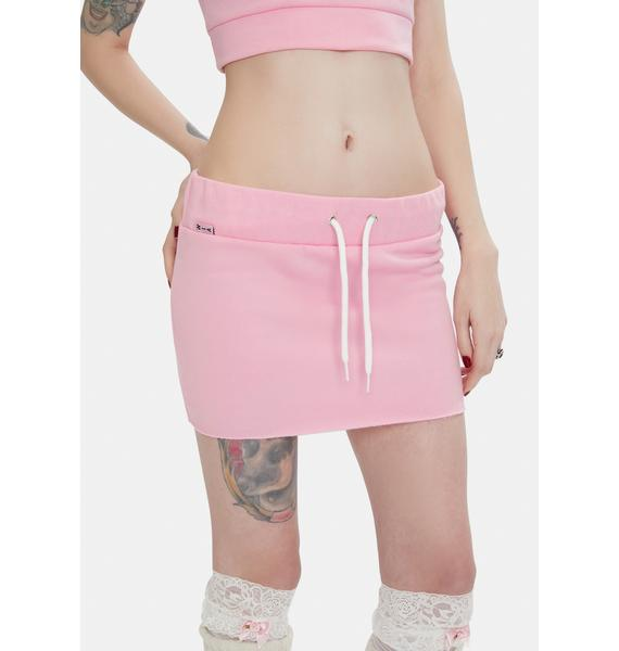 W.I.A Sweet Poison Mini Skirt