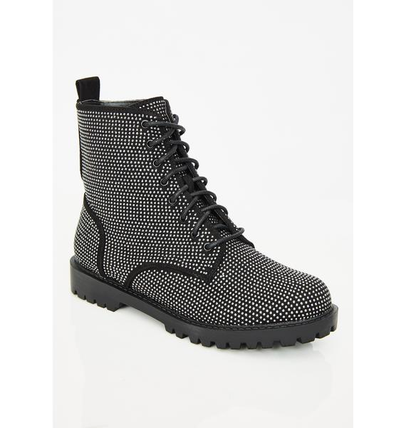 Army Of Glam Combat Boots