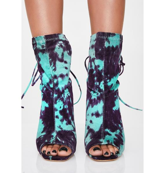 Blue Dream Tie Dye Heels