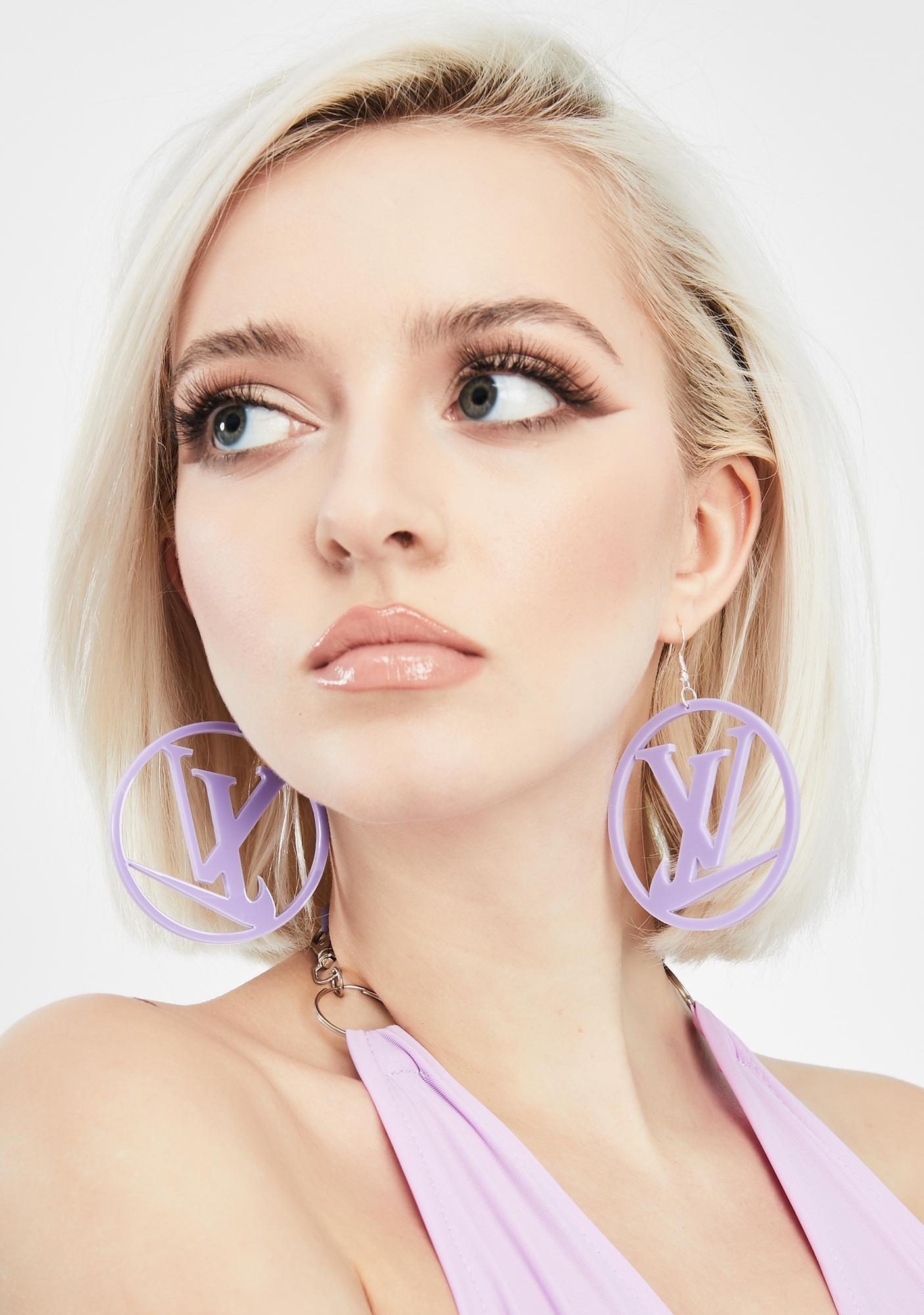 Amarachi Sporty Luxe Hoop Earrings