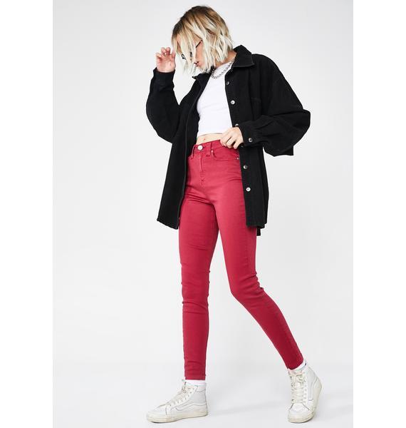Dickies Girl Authentic Skinny Modal Pants