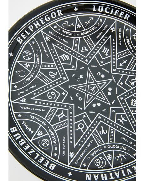 Summoning Decorative Wall Plate