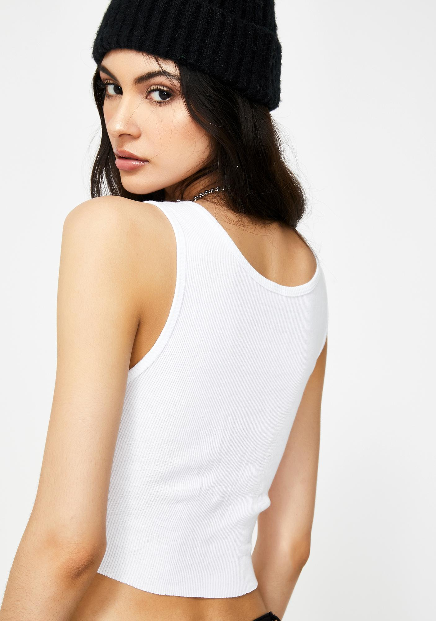 not another label Sage Me Graphic Crop Tank