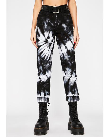 Acid Daydream Tie Dye Jeans