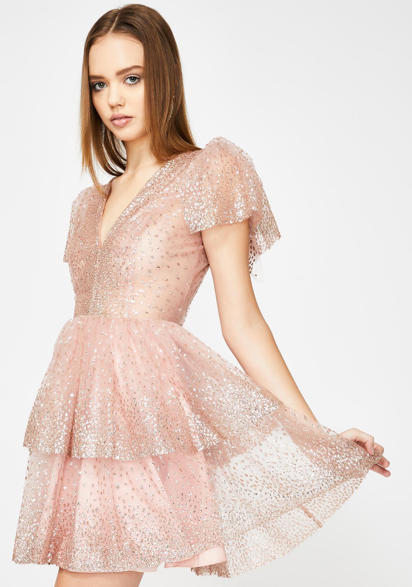 Lirika Matoshi Sara Mini Dress