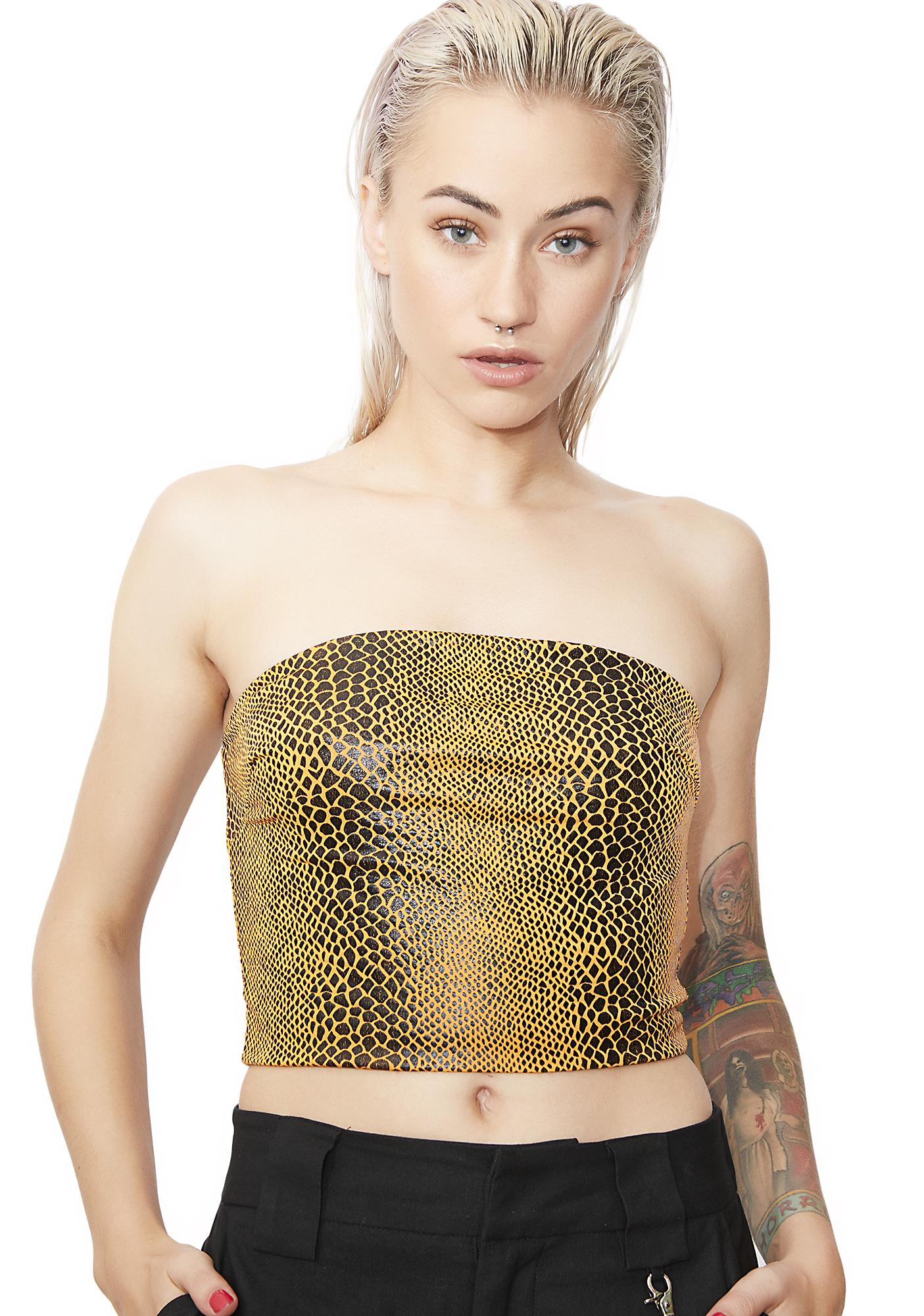 I AM GIA Poison Crop Top
