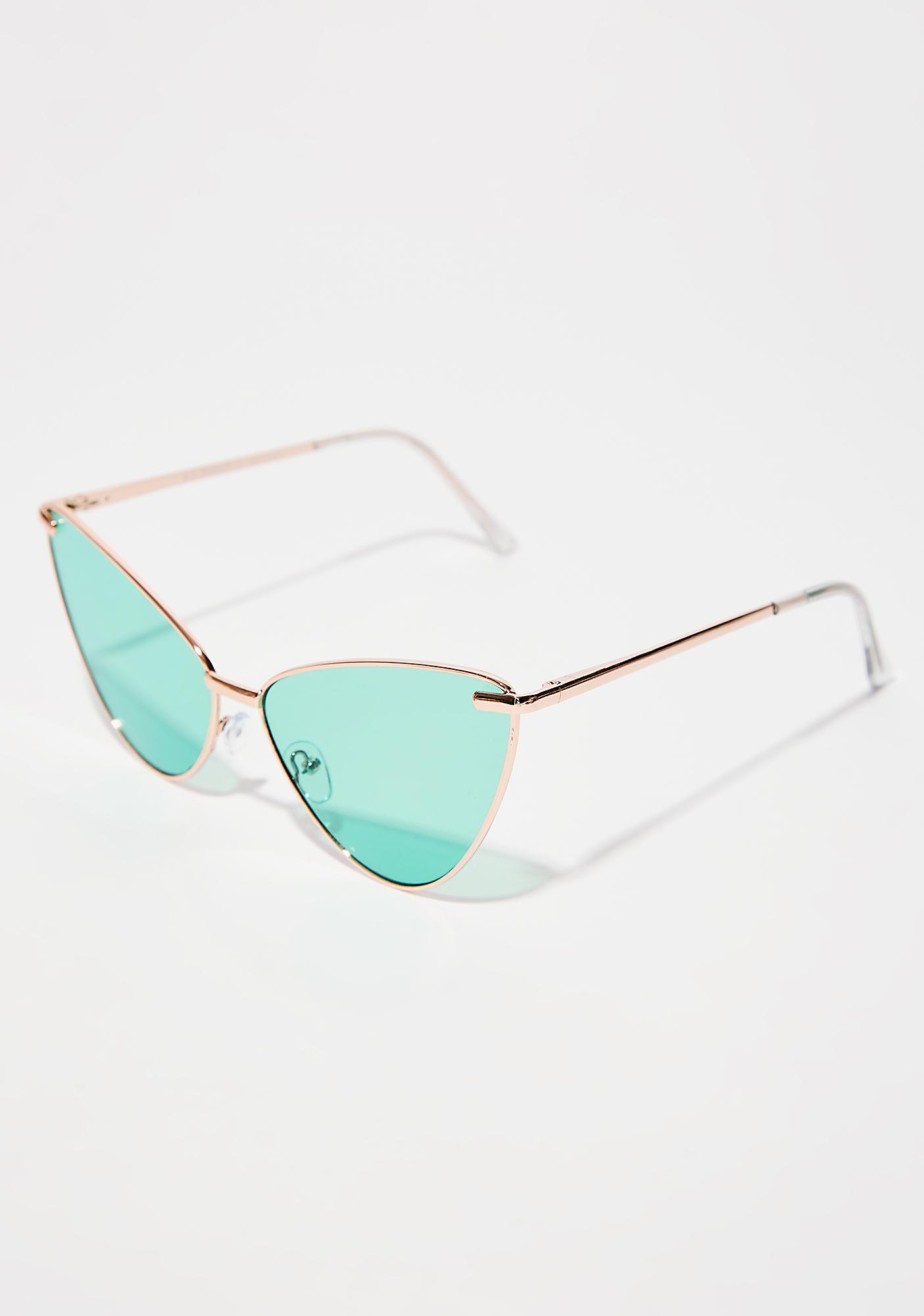So Fierce Cat-Eye Sunglasses