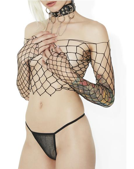Slipstream Fishnet Set
