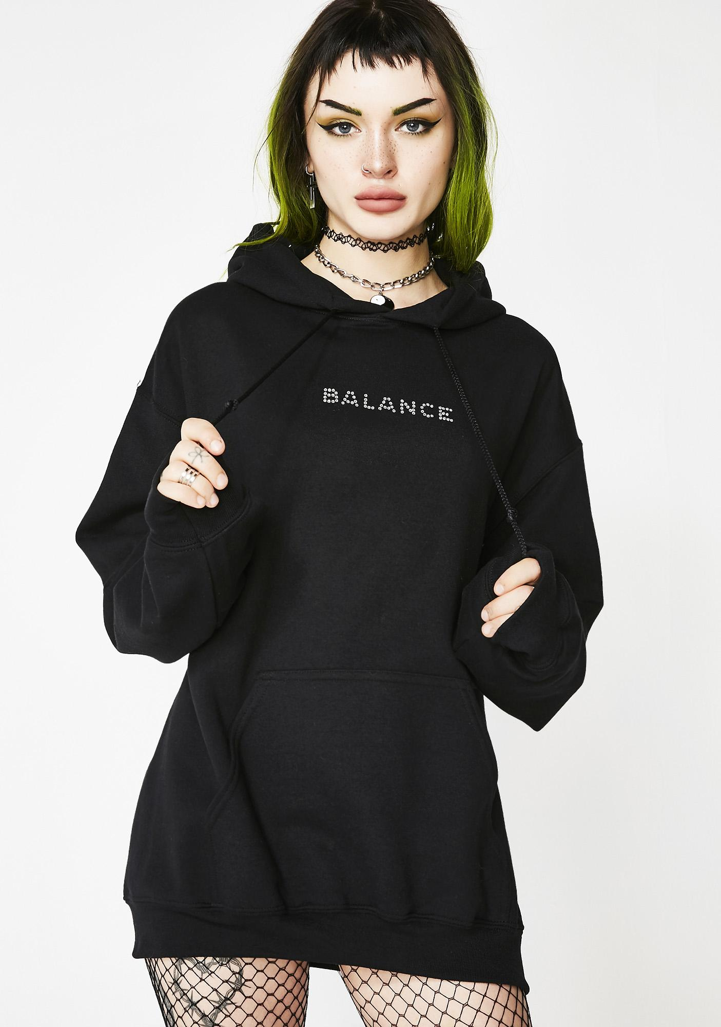 balance-hoodie by petals-and-peacocks
