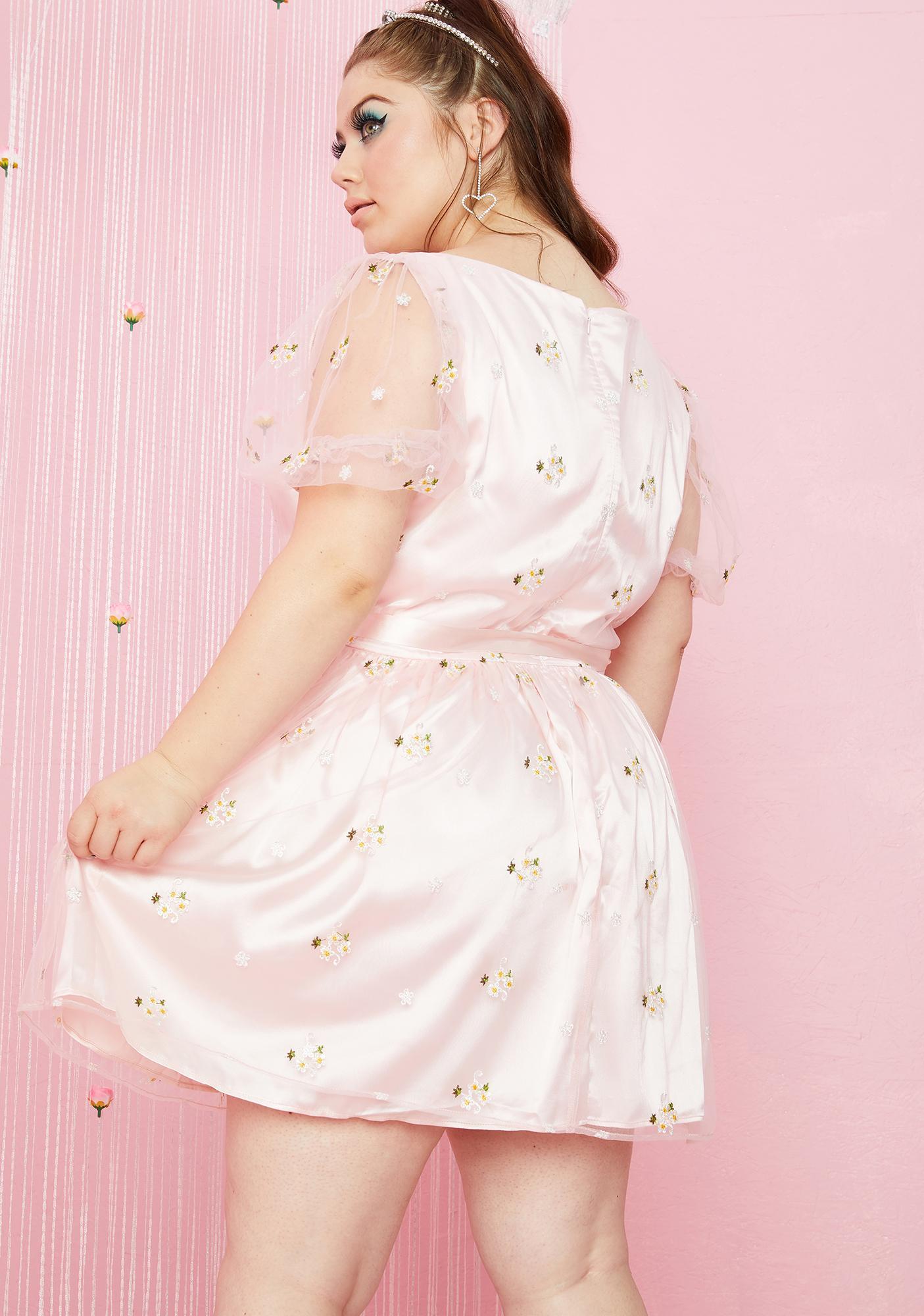 Sugar Thrillz Real Starlet Daze Babydoll Dress