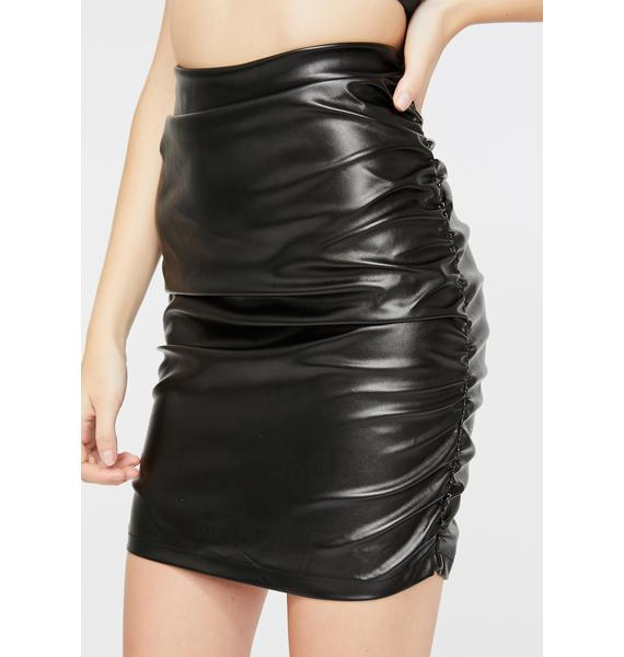 Motel Lugano Ruched Skirt