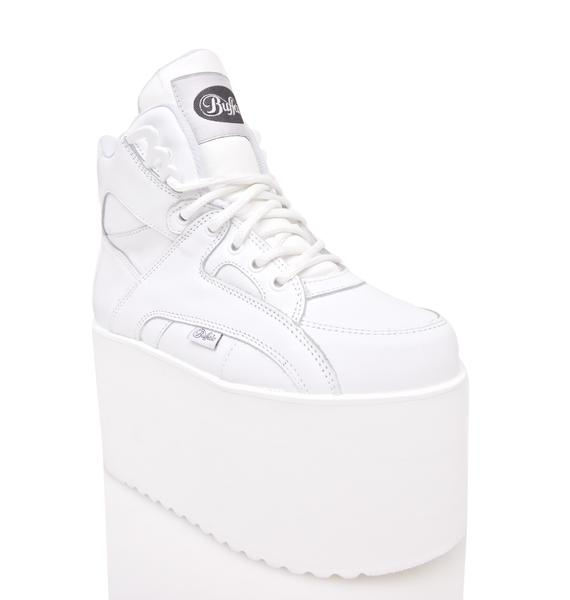 Buffalo Soft Blanco Platform Sneakers
