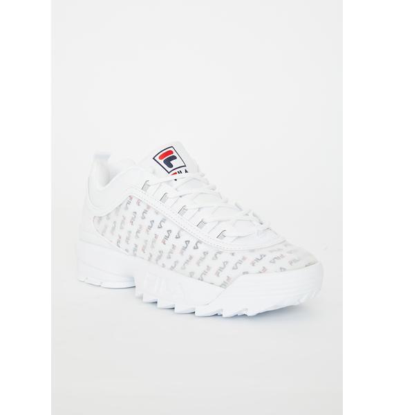 Fila Disruptor II Clear Logo Sneakers