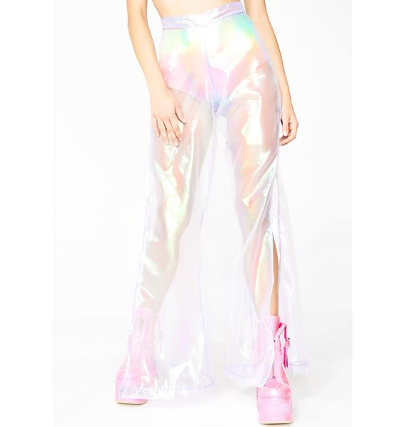 Sparkl Fairy Couture Lilac Iridescent Flow With Mi Pants