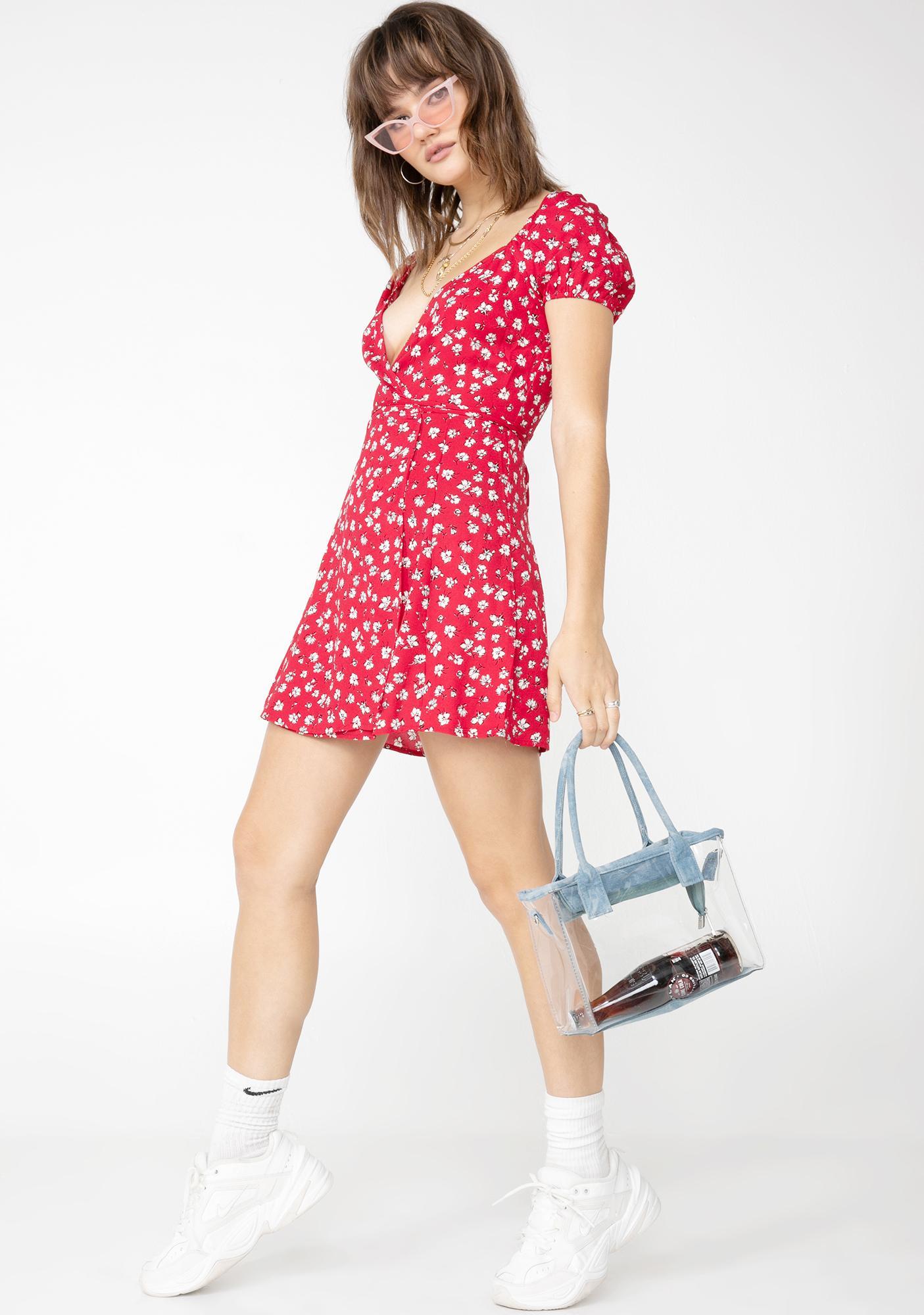 Major Flirt Floral Mini Dress