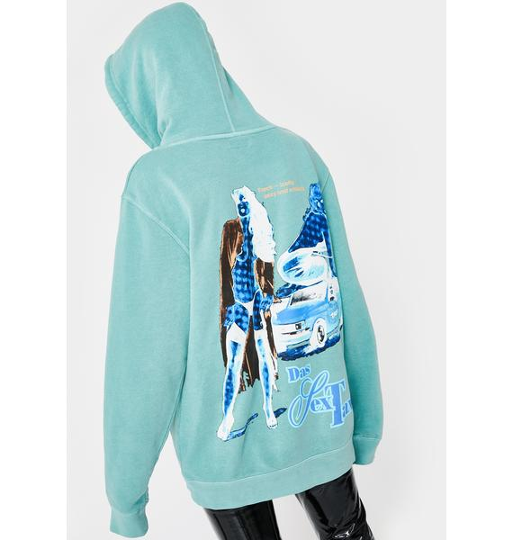Funeral Sex Taxi Graphic Hoodie
