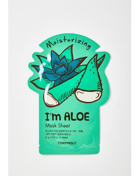 Aloe I'm Real Sheet Mask