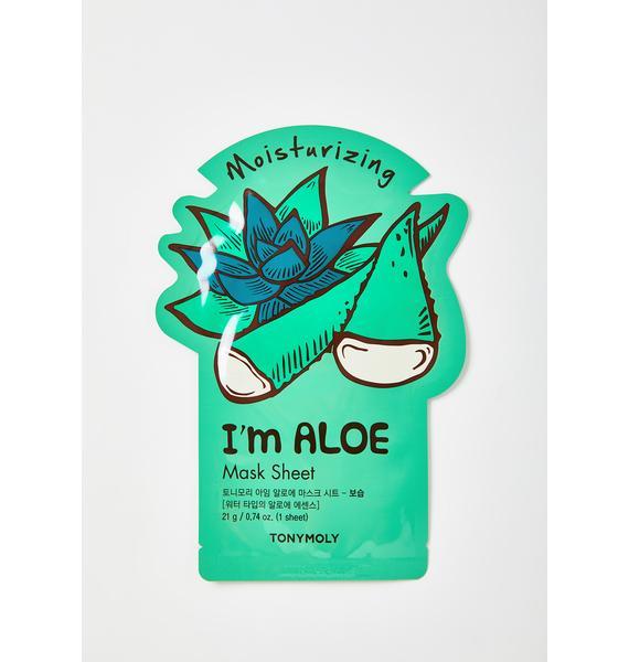 TONYMOLY Aloe I'm Real Sheet Mask