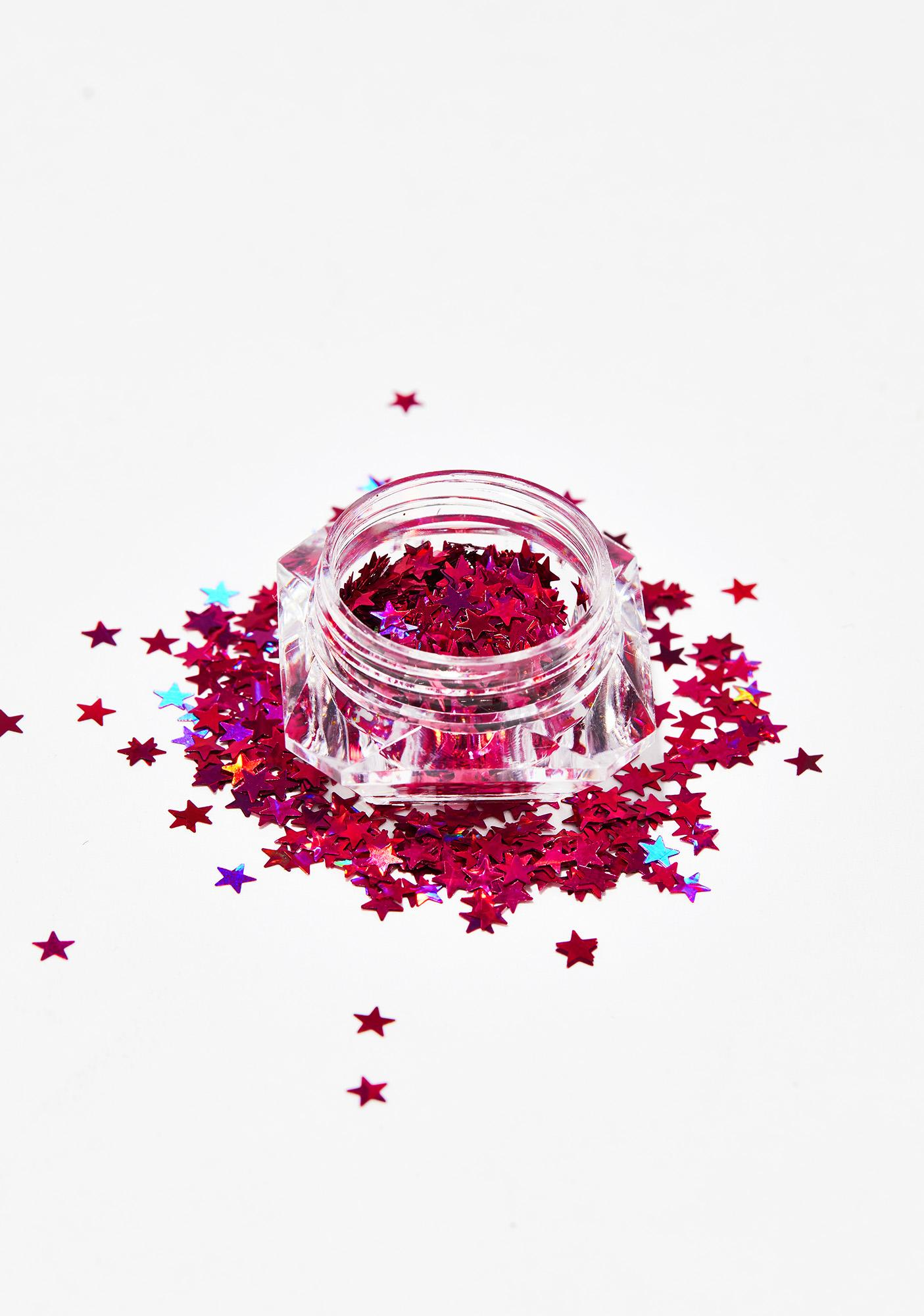 Cotton Candy Beam Me Up Star Glitter