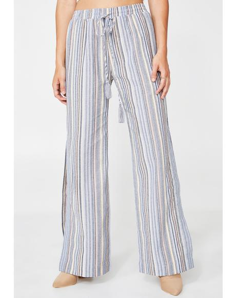 Laid Back Striped Pants