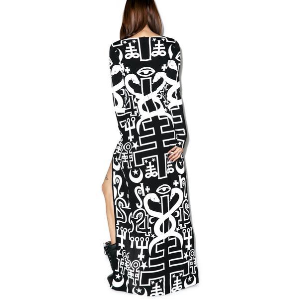Killstar Spiritus Maxi Dress