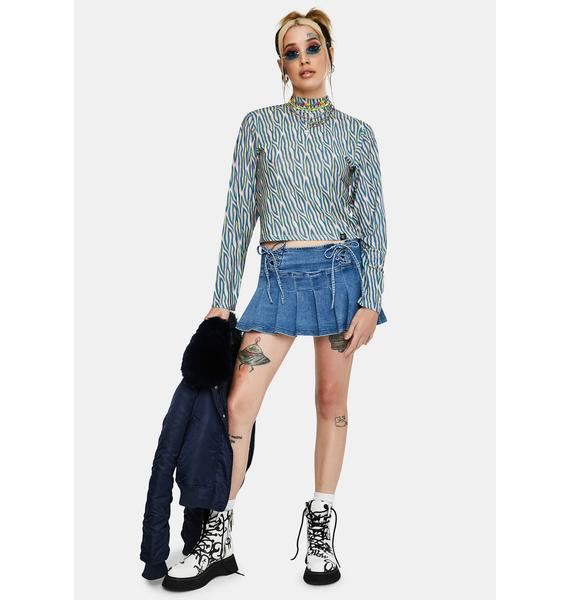 Fearless Illustration Debbie Polo Top