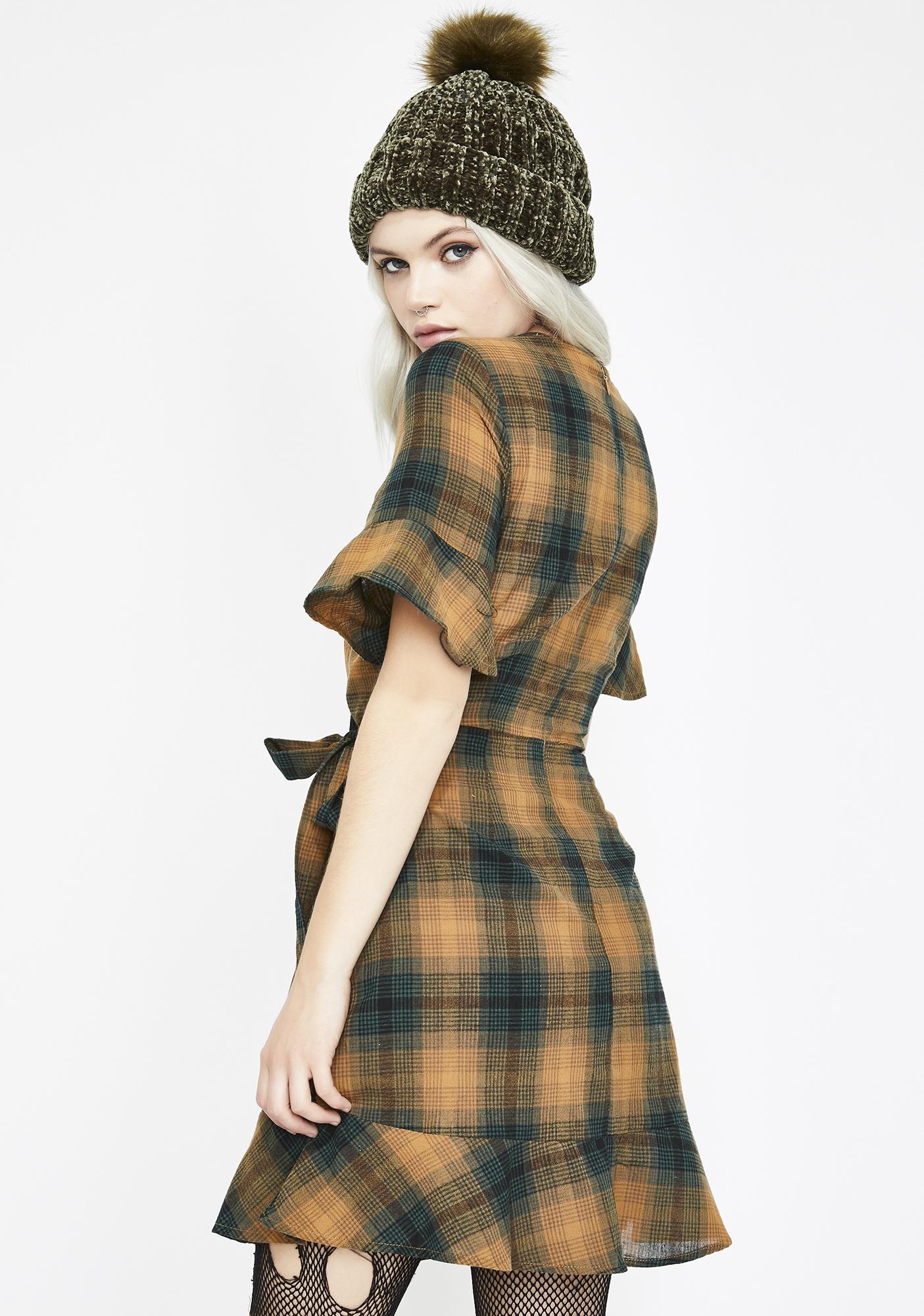 Sweet Escape Wrap Dress