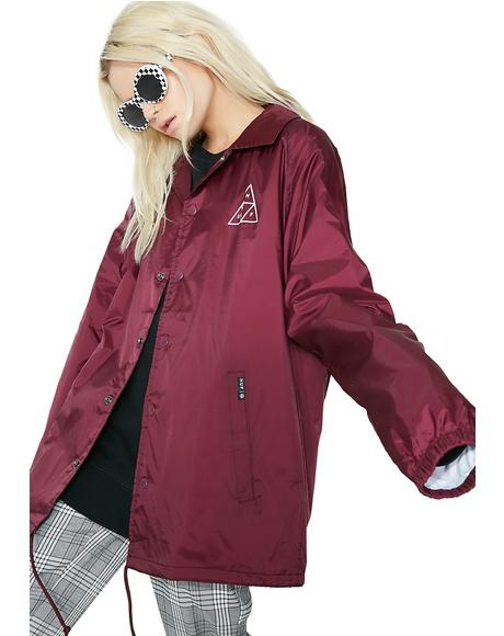 Triple Triangle Coaches Jacket