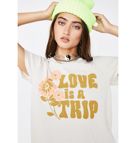 Junk Food Clothing Love Is A Trip Tee