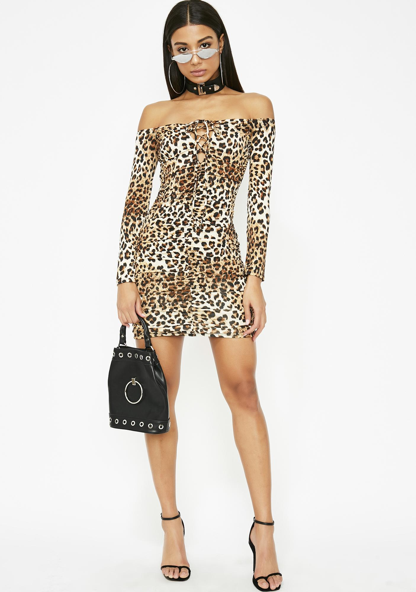 Fierce Fever Mini Dress