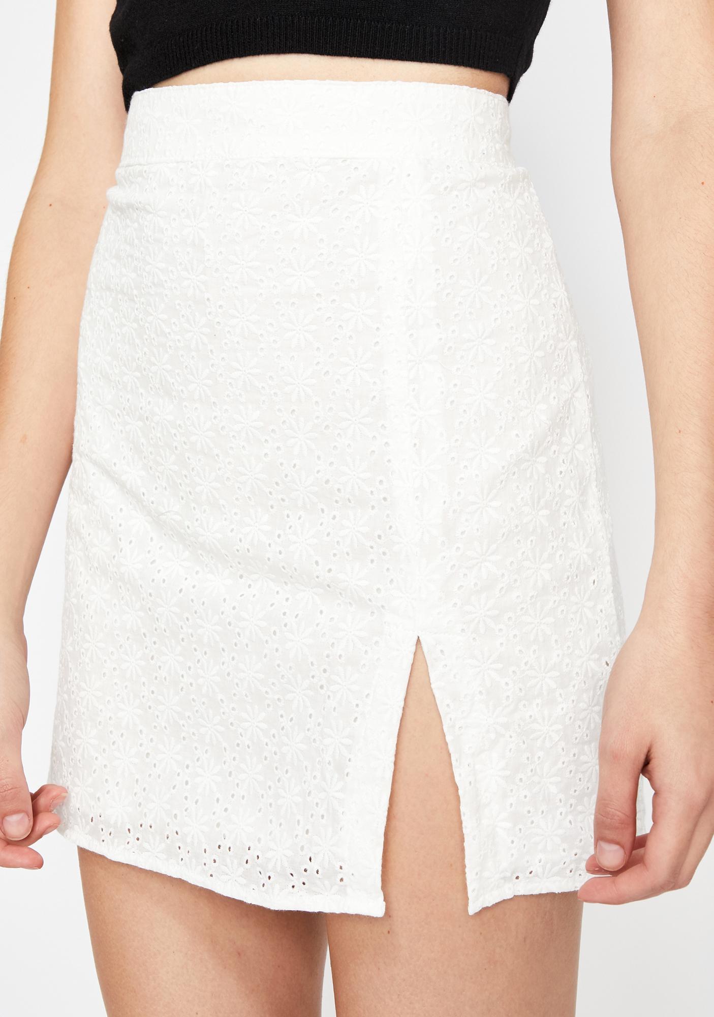 Innocent Escape Eyelet Skirt
