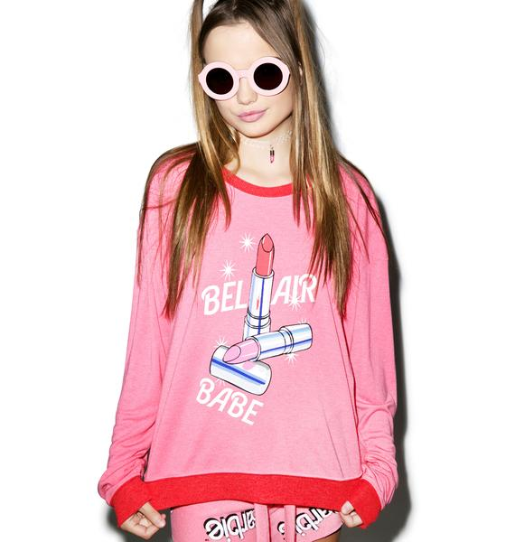 Wildfox Couture Bel Air Babe Oversized Sweater