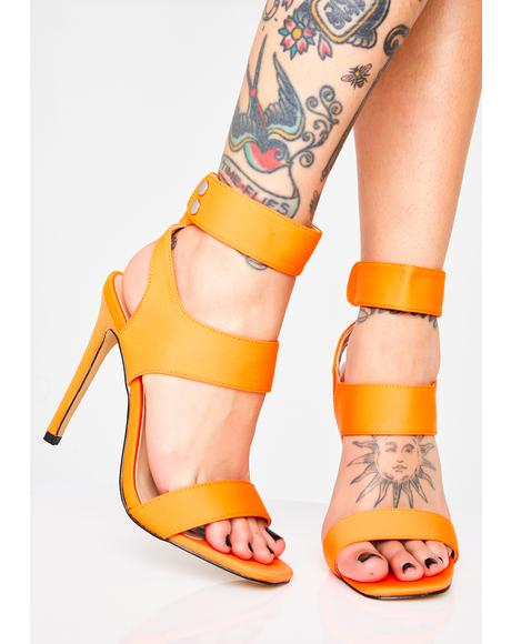 Sunset Miami Mami Cutout Heels