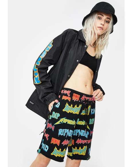 Rock N' Nerm Sweat Shorts