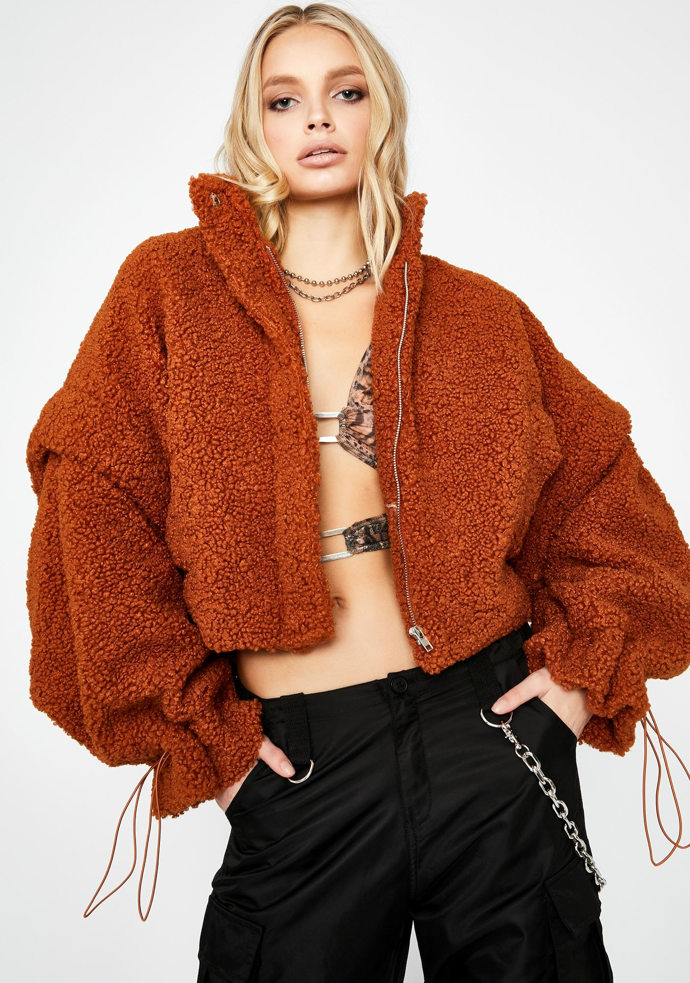 Best Guess Teddy Coat