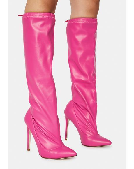 Crenn Knee High Boots