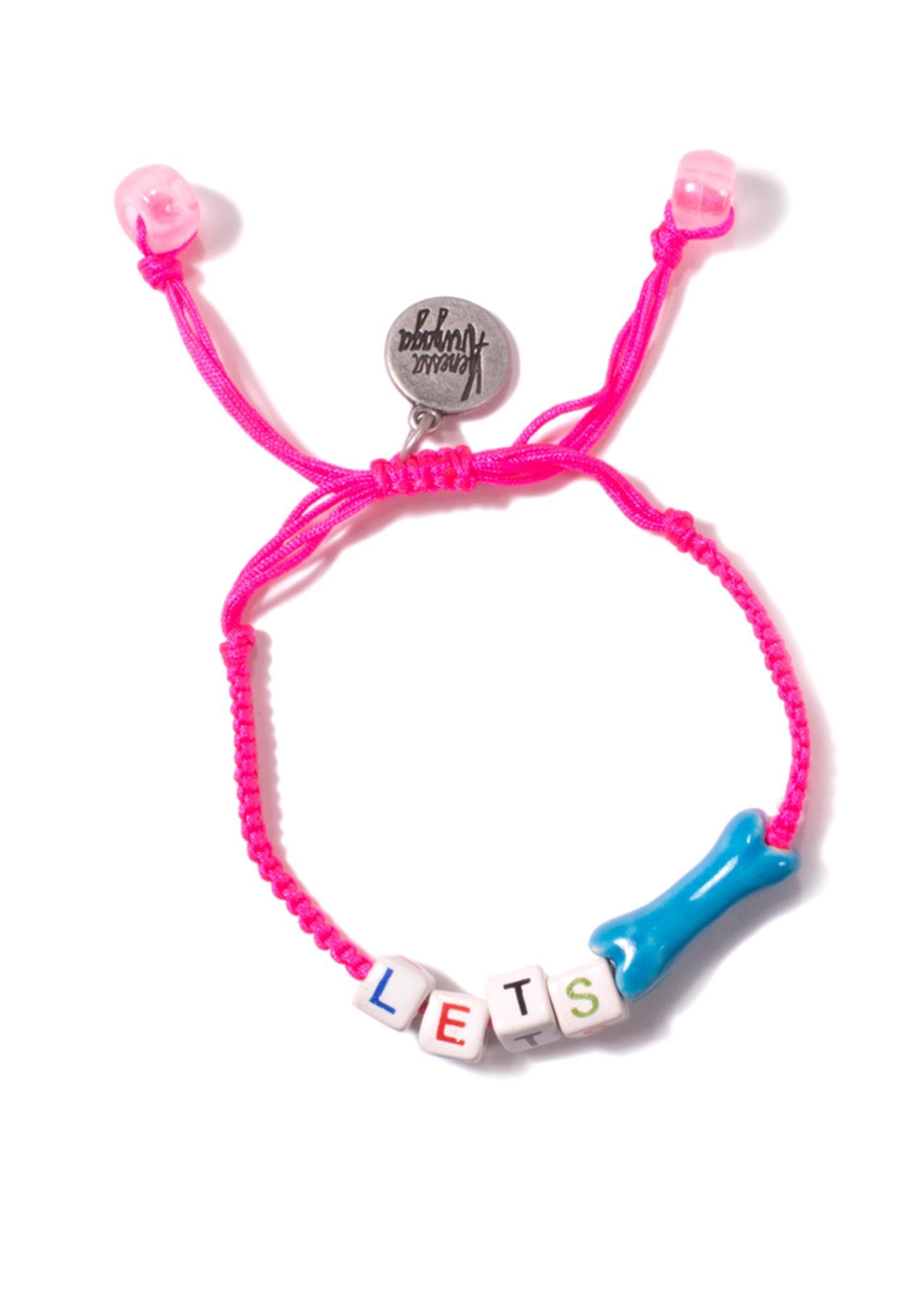 Venessa Arizaga Let's Bone Bracelet