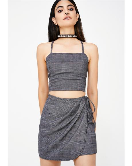 Teach Me Wrap Skirt
