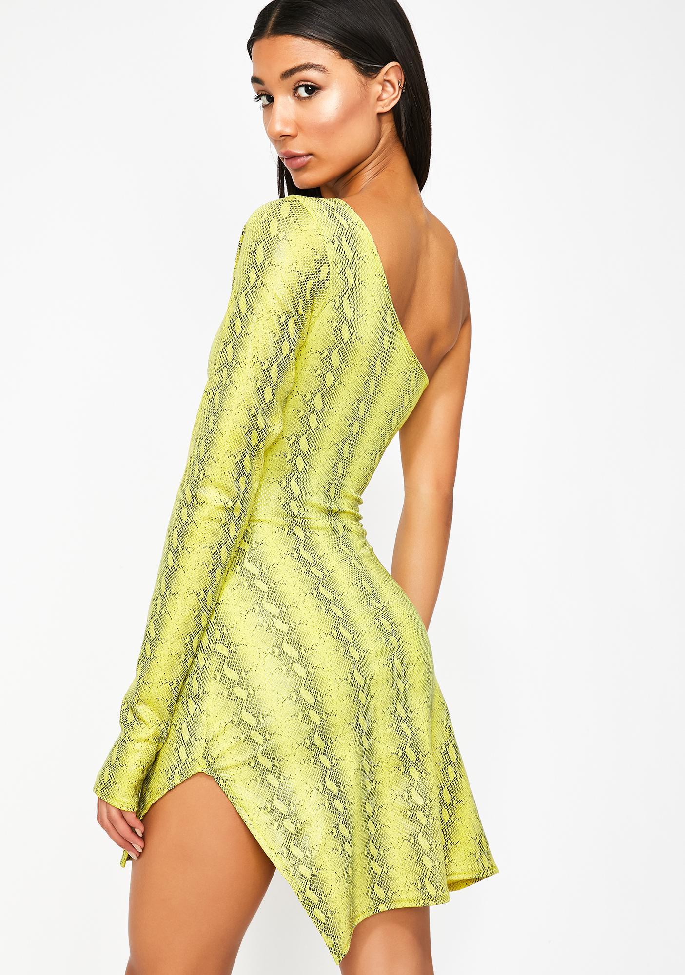 TLZ L' FEMME One Shoulder Mini Dress