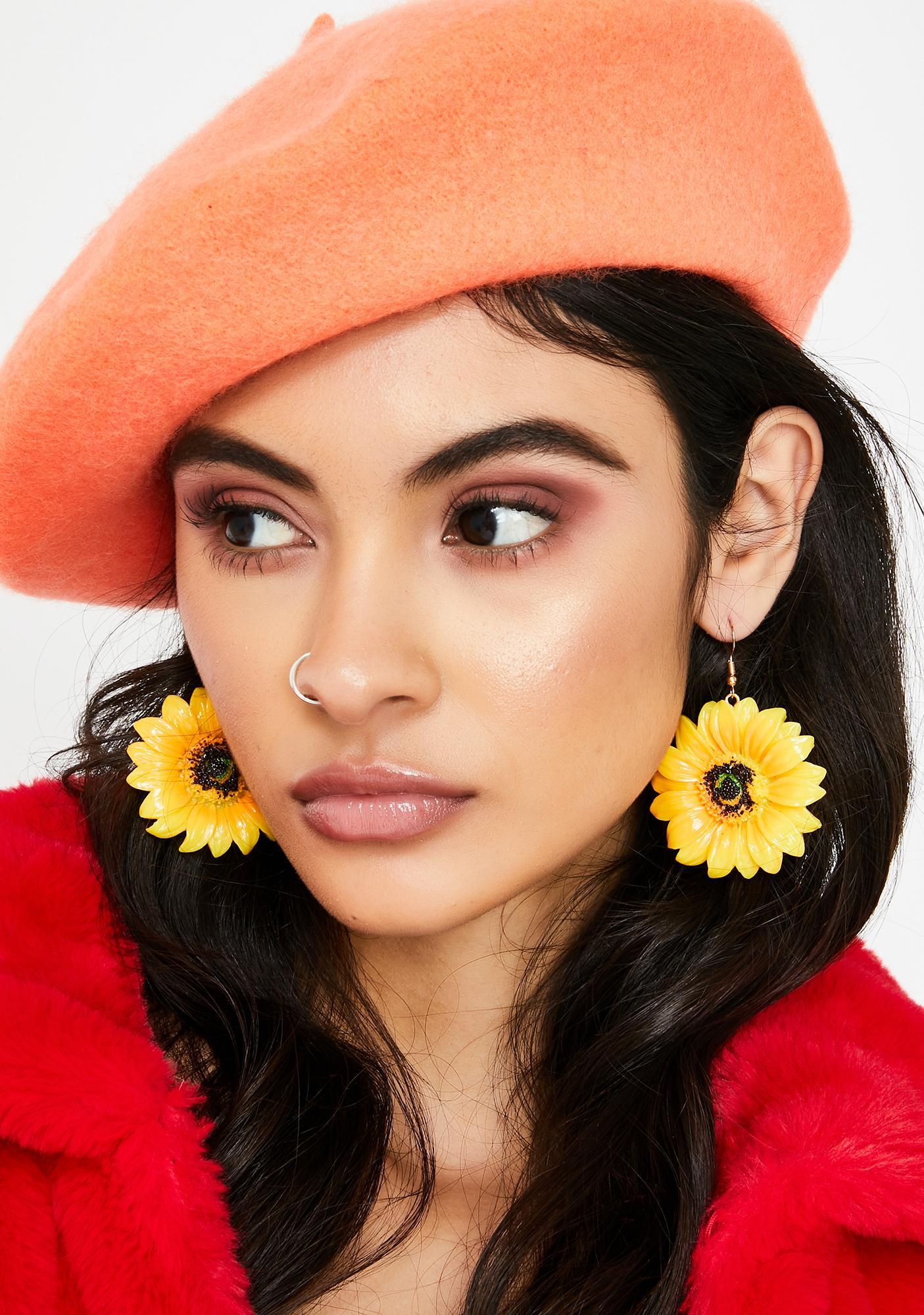 Once N' Flor'al Drop Earrings