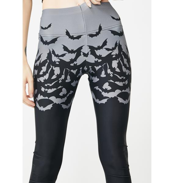 Too Fast Fly Me Bat Leggings