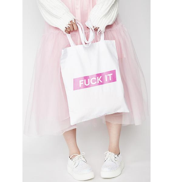 Skinnydip F*ck it Tote Bag