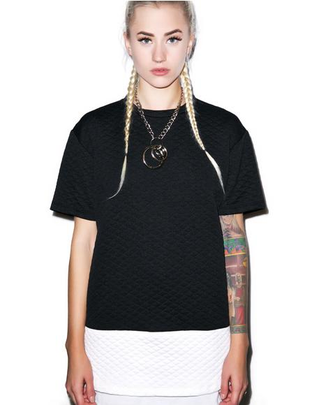 Captain Clutch Quilted Tee