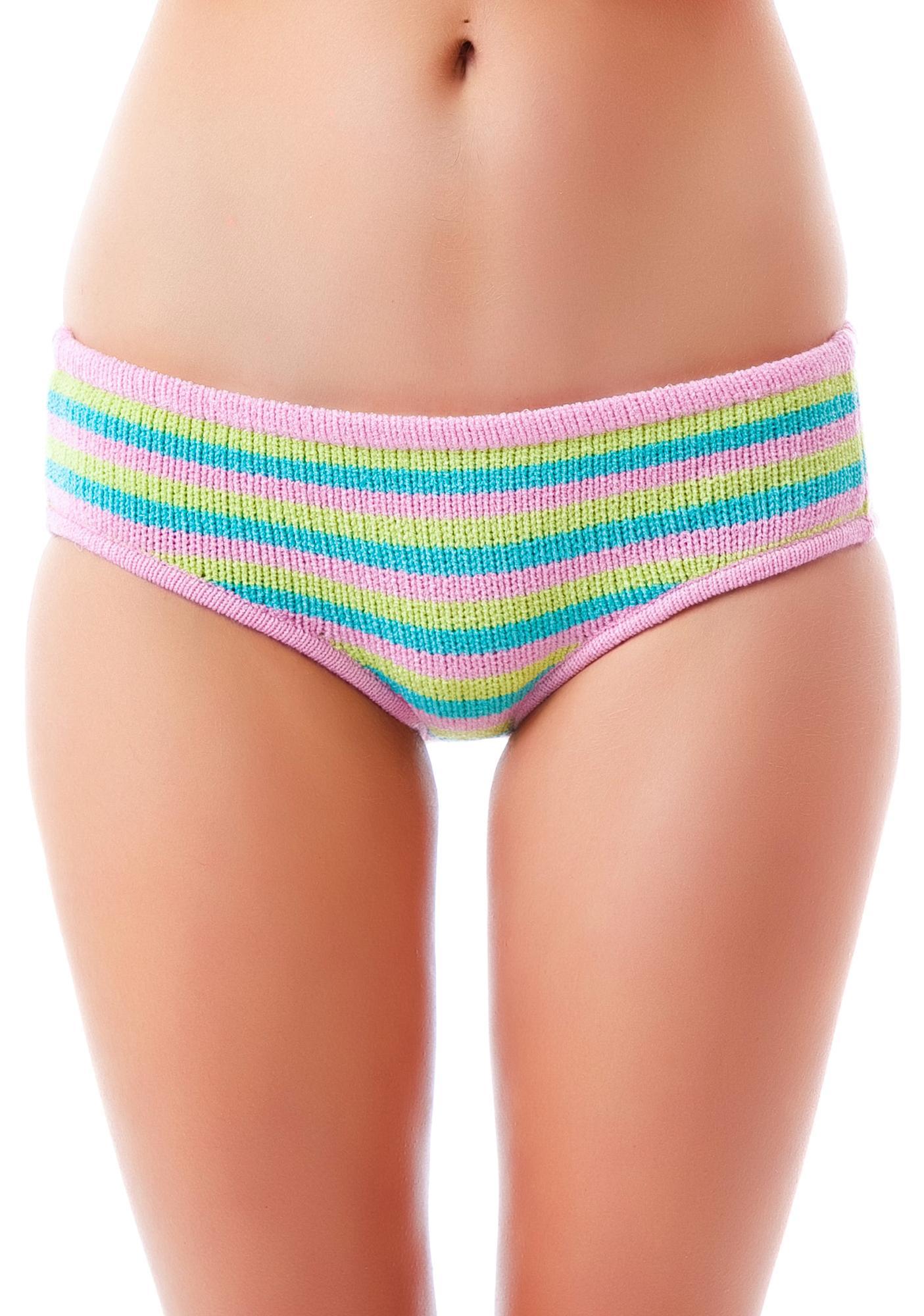 Knitty Kitty Candy Stripe Panty