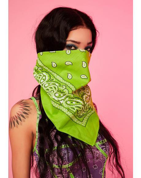 Jade Rebel Rodeo Bandana Scarf