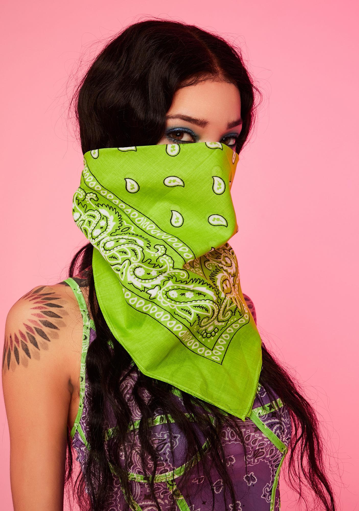 Jade Rebel Rodeo Bandana Scarf