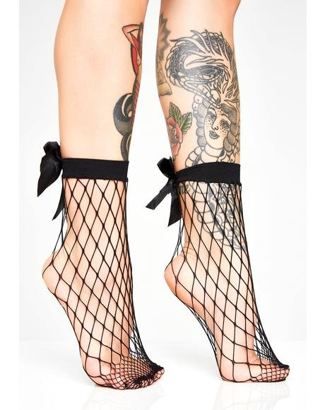 Hey Lolita Fishnet Socks