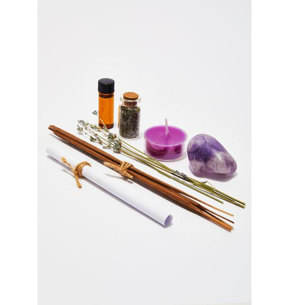 J. SOUTHERN STUDIO Chill Dude Incense Making Ritual Kit