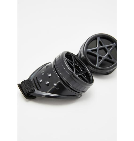 Funk Plus Wicked Gaze Pentagram Goggles